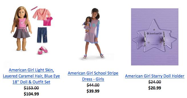 American Girl sale
