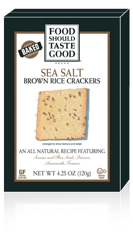 Food Should Taste Good Brown Rice Crackers