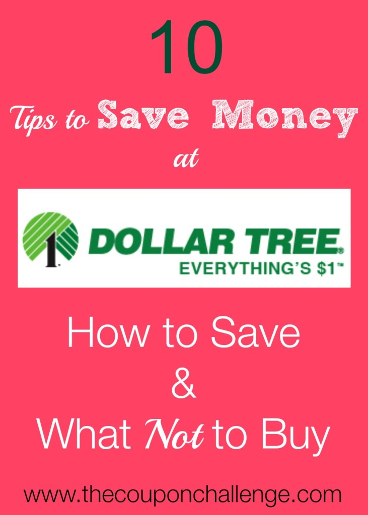 How to Save Money at Dollar Tree 1