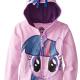 Girls' My Little Pony Twilight Sparkle Hoodie