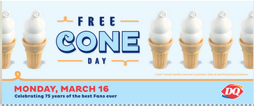 Dairy Queen Free Cone