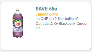 canada dry blackberry ginger