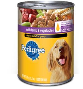 Pedigree Dog Food Cans