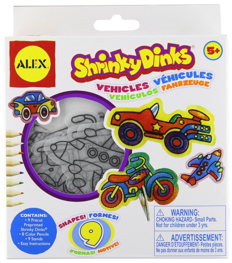 ALEX® Toys - Craft Shrinky Dinks-Vehicles sale