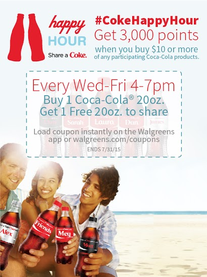 Coca-Cola Happy Hour Coupon