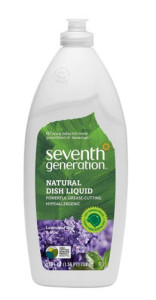 Seventh Generation Natural Dish Liquid - Lavender Floral and Mint 25 oz