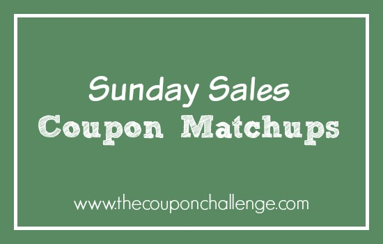 Sunday Sales Coupon Matchups
