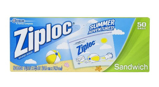 Ziploc brand bags