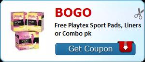 playtex sports pads