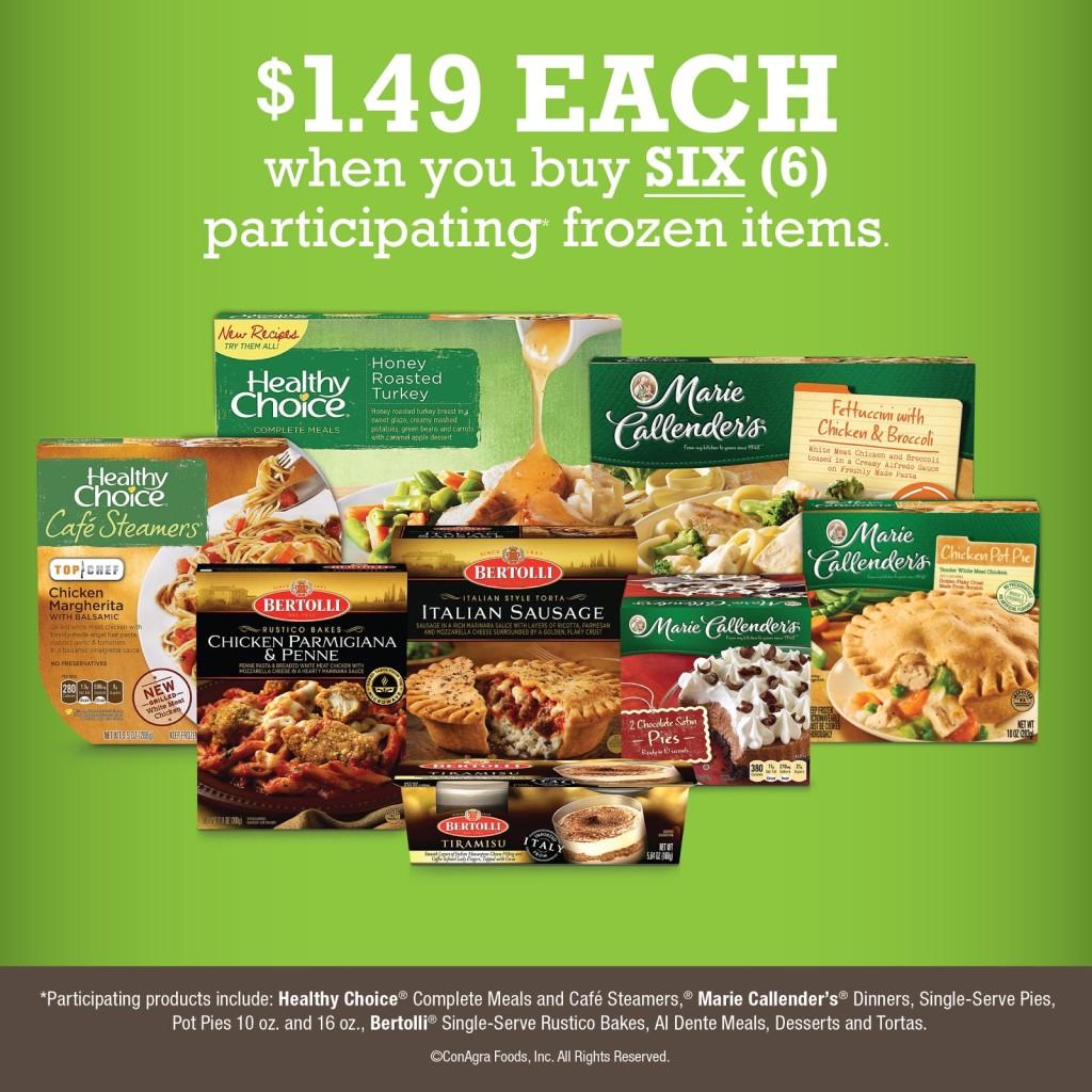 Kroger Frozen Meals Promo