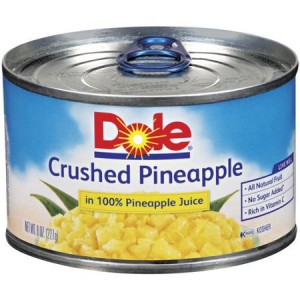 Dole Pineapple 8 oz