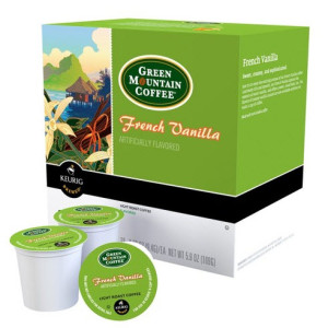 Green Mountain Coffee French Vanilla Keurig K-Cups 18 ct