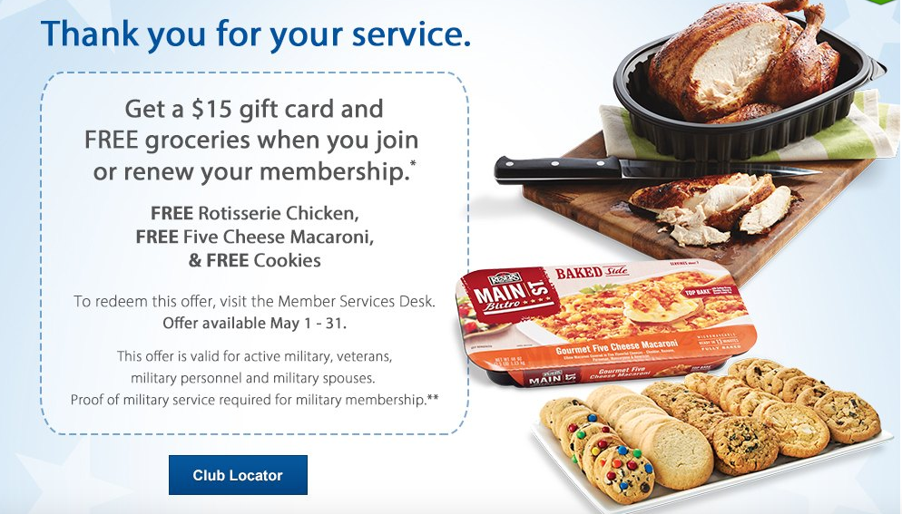 Membership Special w: Freebies for Military