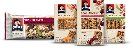 Quaker Real Medleys Bars