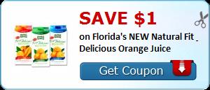 Florida's Natura coupon