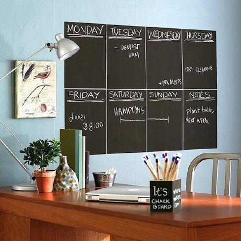 6 Foot Chalkboard or Whiteboard Decal sale