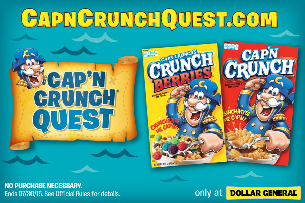 Cap'N Crunch @Dollar General