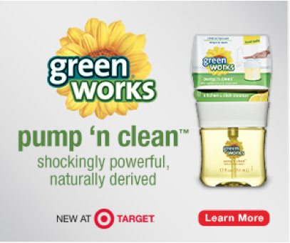Green Works at Target