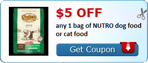 Nutro coupon