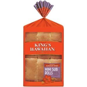 king hawaiian mini sub rolls
