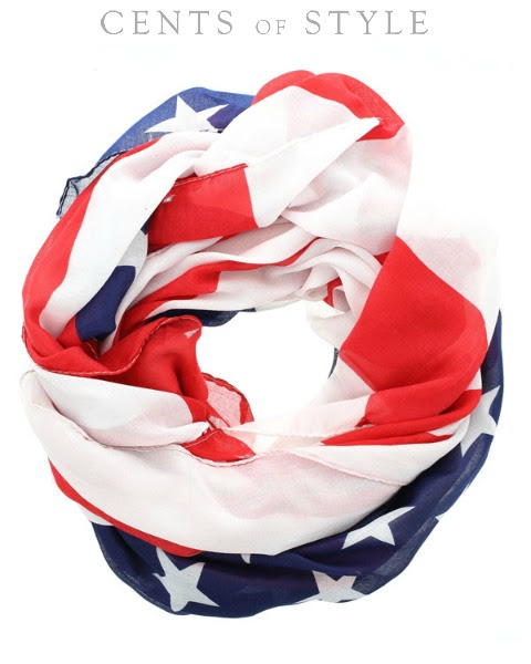 Stars & Stripes Scarf sale