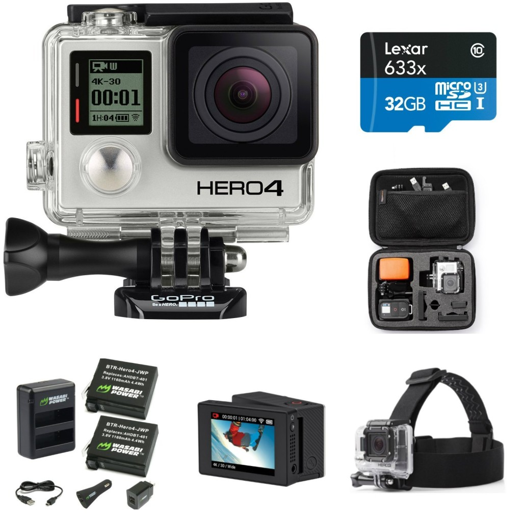 GoPro HERO4 BLACK Prime Bundle sale