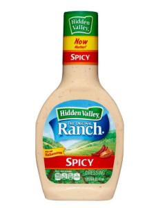 Hidden Valley Spicy Ranch Salad Dressing 16 oz