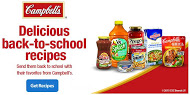 Campbell's Back-to-School recipe logo