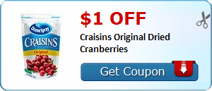 Craisins coupon