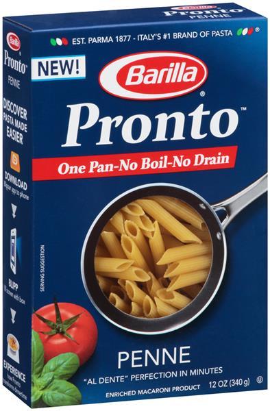 barilla pasta pronto