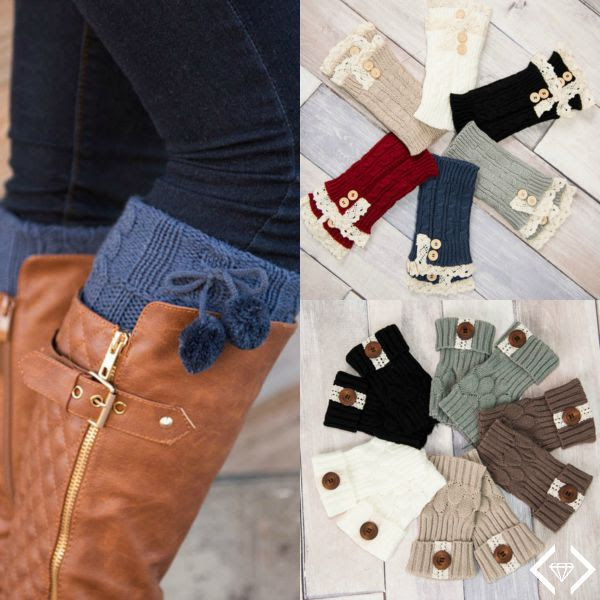 Knit Boot Cuff Sale