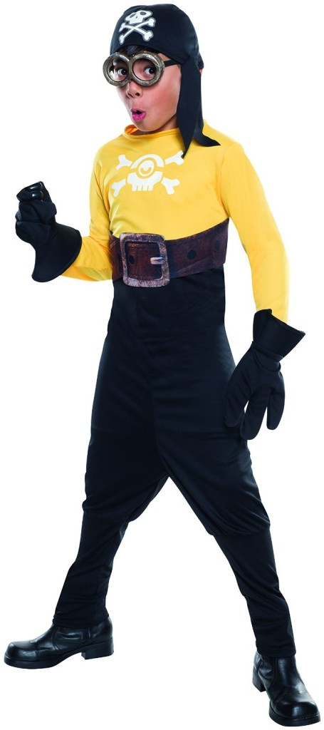 Minions Pirate Child Costume