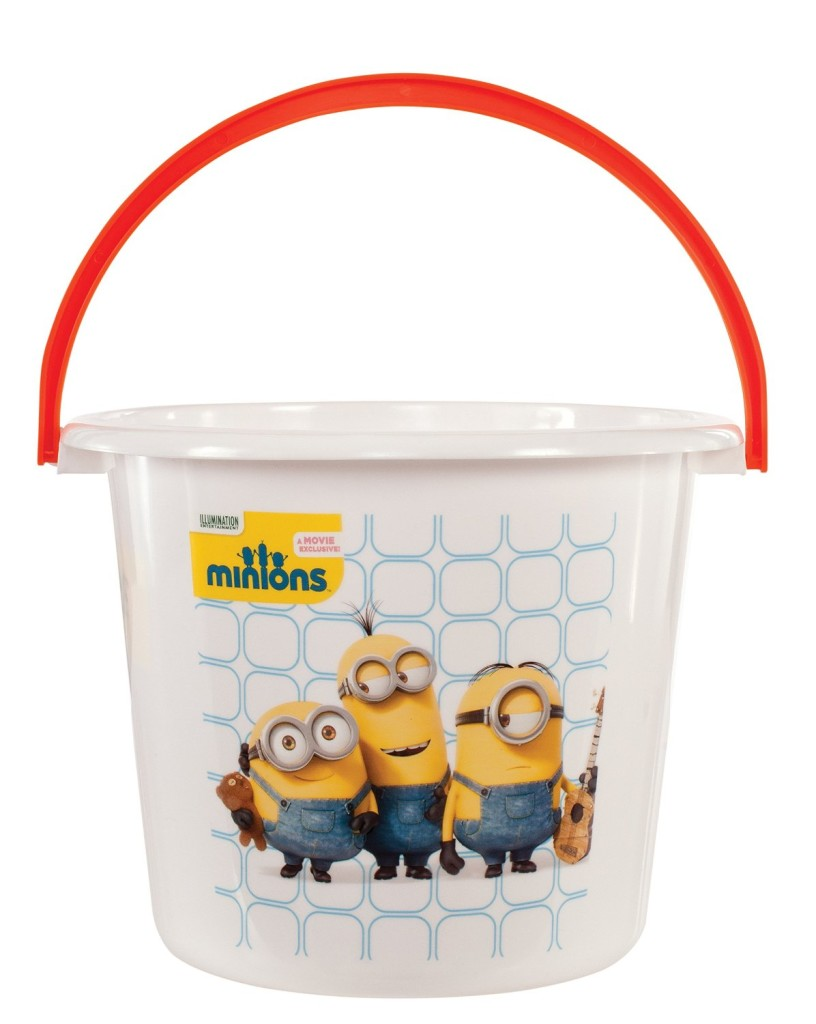 minion halloween pail
