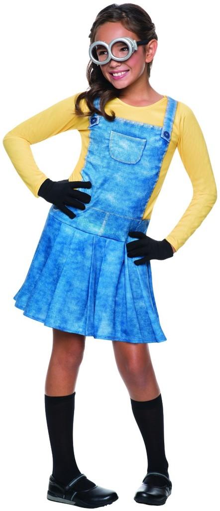 girls minion costume