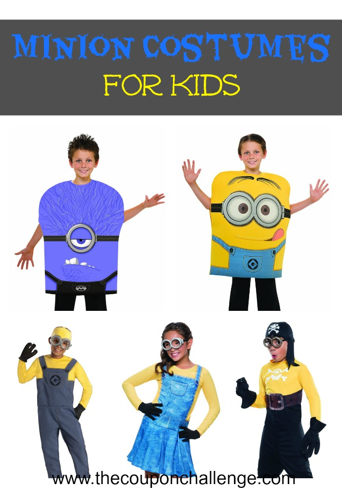 Minion Costumes for Kids