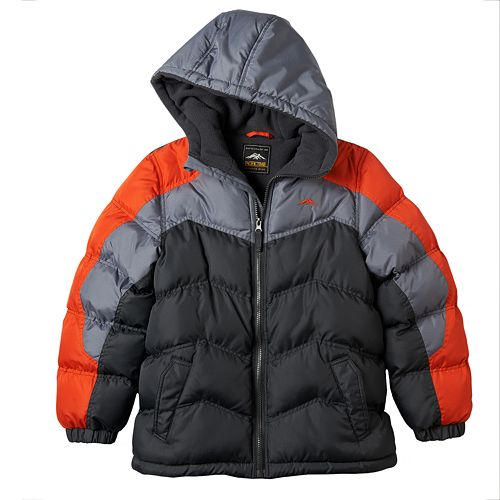 Boys 8-20 Pacific Trail Colorblock Puffer Jacket