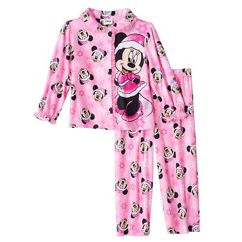Disney's Minnie Mouse Christmas Pajama Set