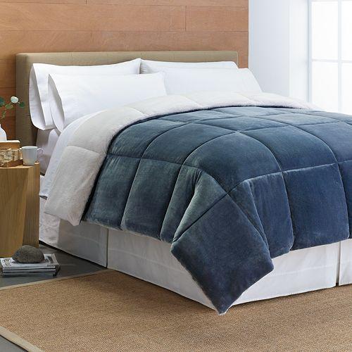 Down-Alternative Reversible Comforter