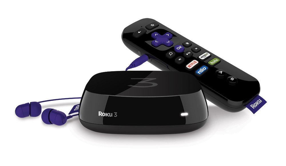 Roku 3 Streaming Media Player (4230R) with Voice Search
