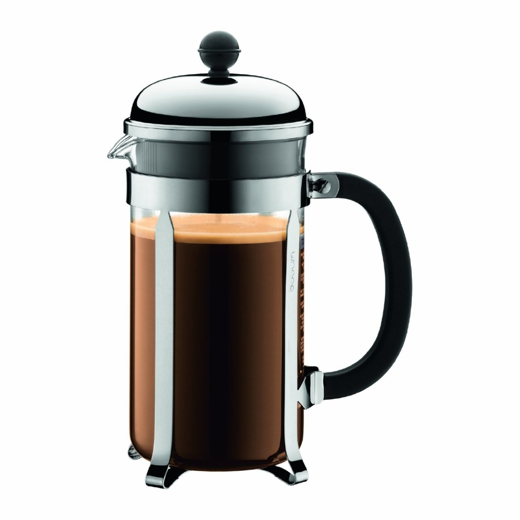 French Press Coffee Maker Images : Amazon: Bodum Chambord 8 cup French Press Coffee Maker USD 29.99 - The Coupon Challenge