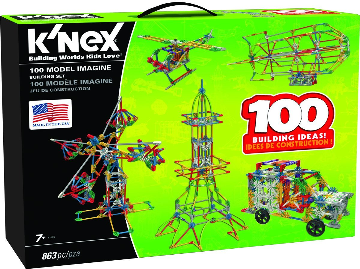 About K'NEX. K'nex products take construction toys to a whole new level. Knex products are built to inspire creativity, build self confidence, and encourage interaction between children ages preschool – 9 & up and their parents.