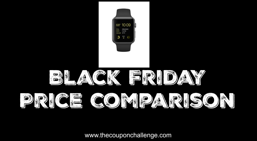 Apple Watch Black Friday Price Comparison