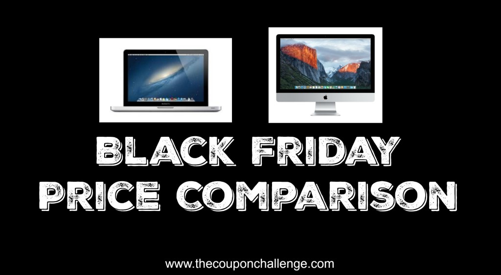 Black Friday Macbook Price Comparison
