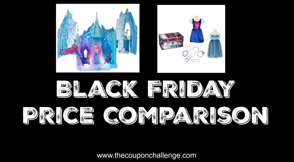 Disney Frozen Black Friday Price Comparison
