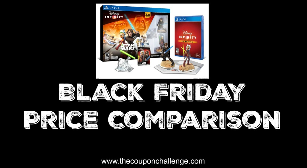 Disney Infinity Black Friday Price Comparison