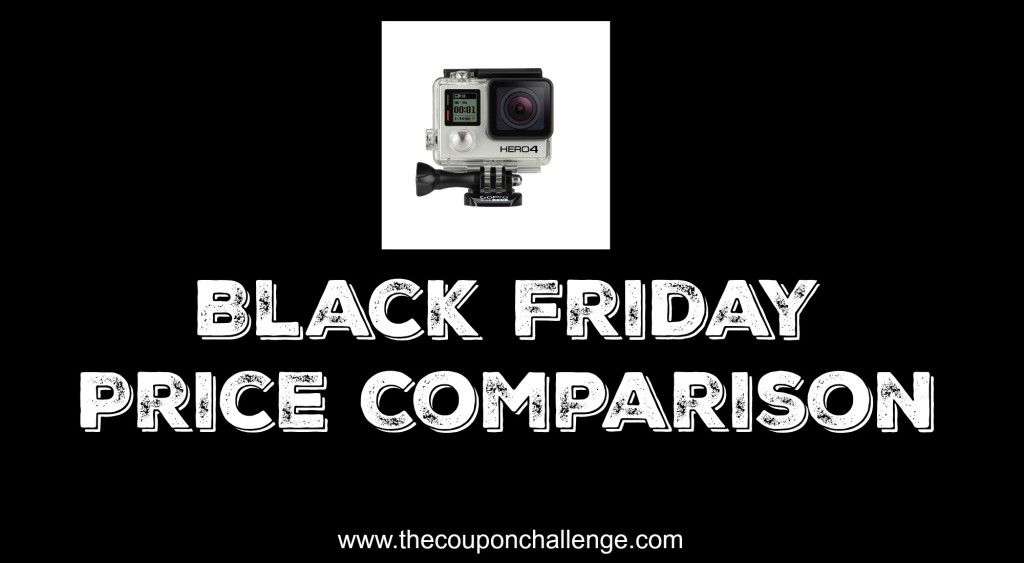 Go Pro Black Friday Price Comparison