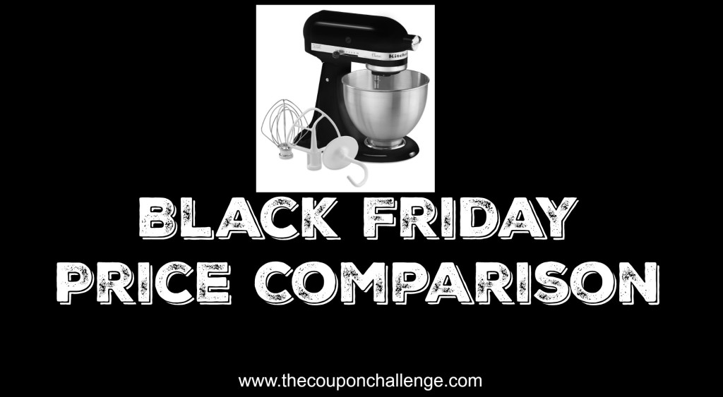 Kitchen aid black Friday price comparison