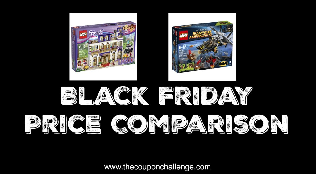 Lego Black Friday Price Comparison