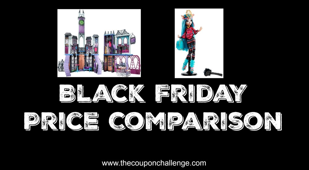 Monster High Black Friday Price Comparison