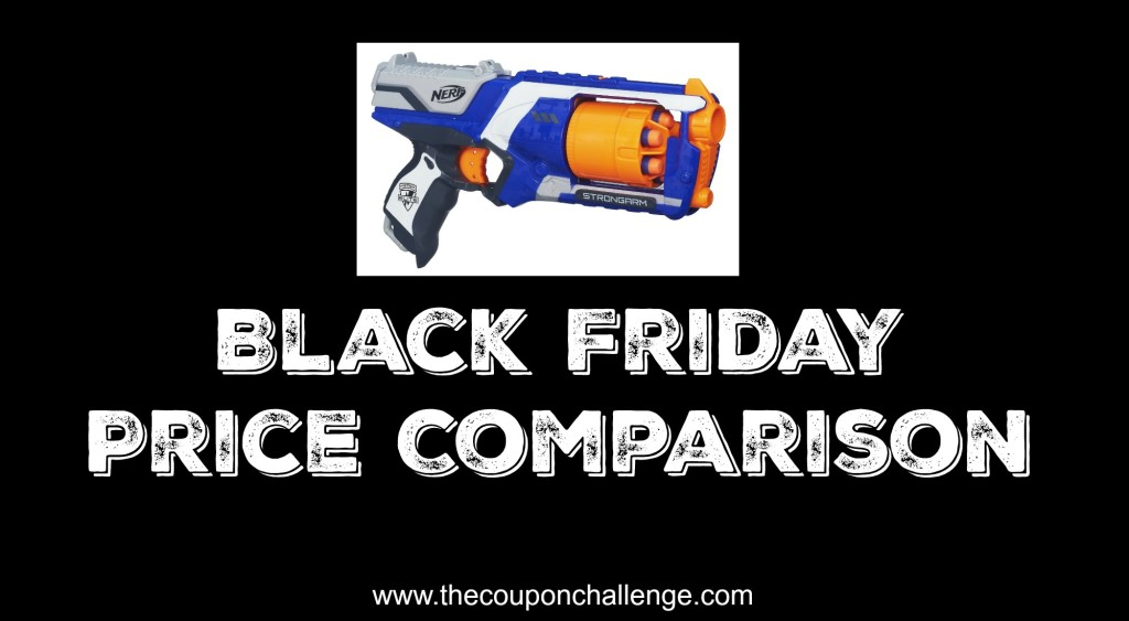 Nerf Black Friday Comparison